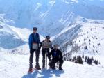 Les mêmes au sommet du Mont Truc