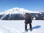 Le Mont Joly... derrière !